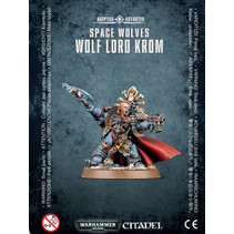 Space Wolves - Wolf Lord Krom