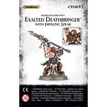 Khorne Bloodbound: Exalted Deathbringer with Impaling Spear