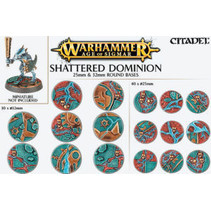 Shattered Dominion: 25mm & 32 Round Bases
