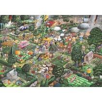 Gibsons: I Love Gardening - Mike Jupp (1000)