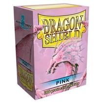 Dragon Shield Sleeves Pink 100