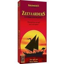 Kolonisten van Catan: Zeevaarders 5/6 Uitbreiding Oude editie