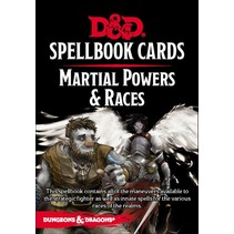 D&D 5th Edition Spellbook Cards: Martial Powers & Races