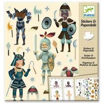 Stickers & Paperdolls: Knights