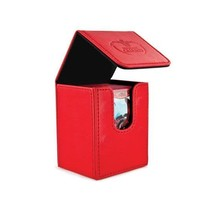 Ultimate Guard Flip Deck Case 100+ Red