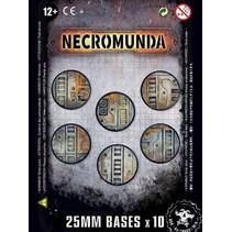 Necromunda: 25mm Bases (10x)