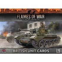 Armies of Late War: British Unit Cards
