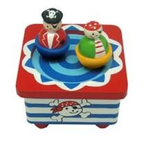 Playwood Muziekdoos Piraat