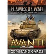 FOW 4.0: Avanti Command Cards
