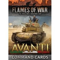 FOW 4.0: Avanti Command Cards