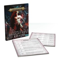 Warscroll Cards: Daughters of Khaine