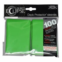 Sleeves Pro-Matte Eclipse - Lime Green (100)