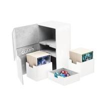 Ultimate Guard Twin Flip ́n ́Tray Deck Case Xenoskin 200+ White