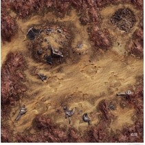 Star Wars Legion: Desert Ruins Gamemat