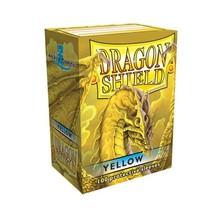 Dragon Shield Sleeves: Yellow
