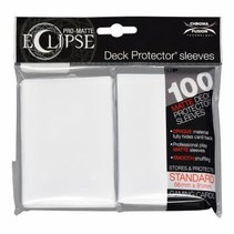 Sleeves Pro-Matte Eclipse - Arctic White (100)
