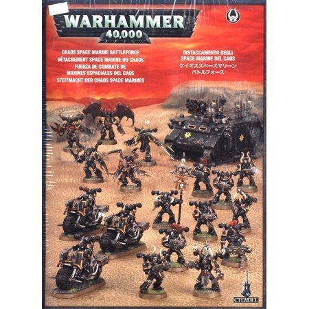 Games Workshop Warhammer 40,000 Chaos Heretic Astartes Chaos Space Marines Battleforce
