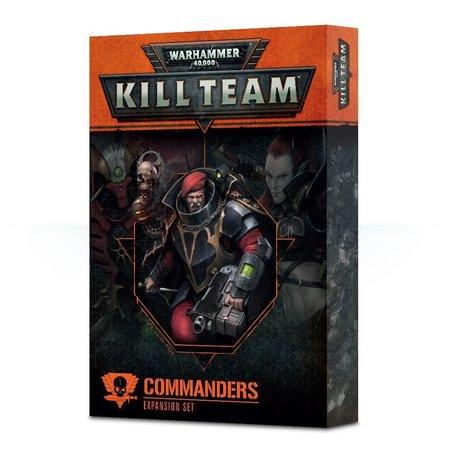 Games Workshop Warhammer 40.000 Kill Team: Commanders