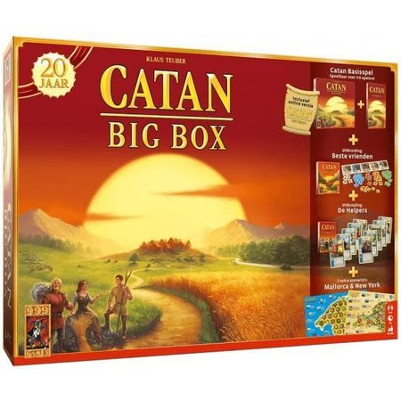 999-Games Kolonisten van Catan 6e Editie: Big Box Jubileum Editie
