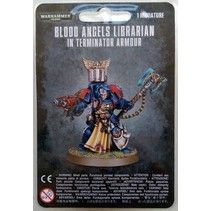 Warhammer 40,000 Imperium Adeptus Astartes Blood Angels: Librarian in Terminator Armour