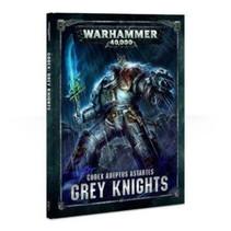 Warhammer 40,000 8th Edition Rulebook Imperium Codex: Adeptus Astartes Grey  Knights (HC)