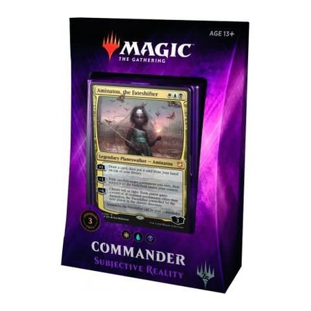 Wizards of the Coast Magic: the Gathering Commander 2018 Subjective Reality Deck (WUB, Aminatou)