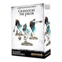Age of Sigmar Nighthaunt: Crawlocke the Jailor and Chainghasts