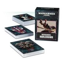 Warhammer 40,000 8th Edition Datacards Xenos: Aeldari Harlequins