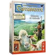 Carcassonne Schapen en Heuvels Nieuw