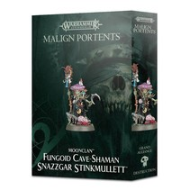 Age of Sigmar Grots Moonclan: Fungoid Cave-Shaman Snazzgar Stinkmullett (Malign Portents)