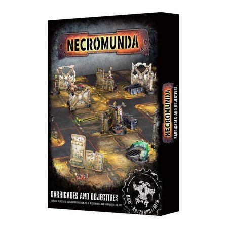 Games Workshop Necromunda: Barricades and Objectives