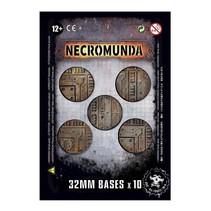 Necromunda: 32mm Bases (10x)