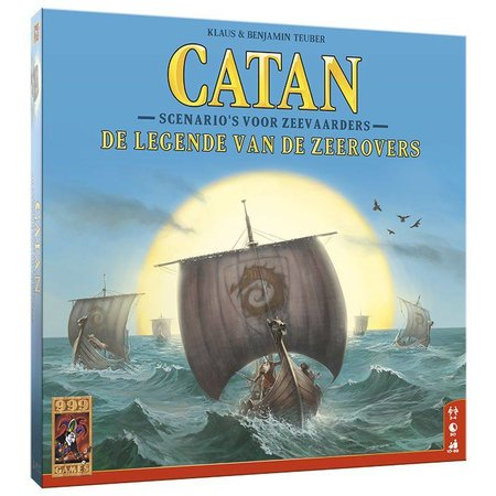 999-Games Kolonisten van Catan 6e Editie: De Legende van de Zeerovers