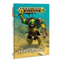 Age of Sigmar 2nd Edition Rulebook Destruction Battletome: Ironjawz (HC)