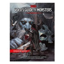 D&D 5th Edition Expansion: Volo's Guide to Monsters