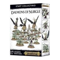 Age of Sigmar/Warhammer 40,000 Daemons of Nurgle Start Collecting Set