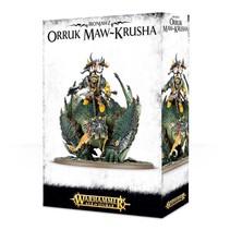 Age of Sigmar Orruks Ironjawz: Gordrakk, Fist of Gork/Megaboss on Maw-Krusha