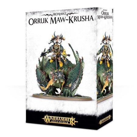 Games Workshop Age of Sigmar Orruks Ironjawz: Gordrakk, Fist of Gork/Megaboss on Maw-Krusha