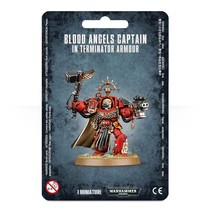 Warhammer 40,000 Imperium Adeptus Astartes Blood Angels: Captain in Terminator Armour