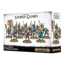 Age of Sigmar Seraphon: Saurus Guard