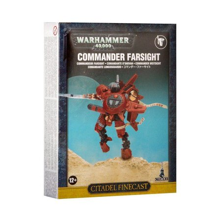 Games Workshop Warhammer 40,000 Xenos T'au Empire: Commander Farsight