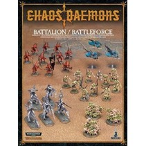 Age of Sigmar/Warhammer 40,000 Daemons of Chaos: Chaos Daemons Battalion/Battleforce