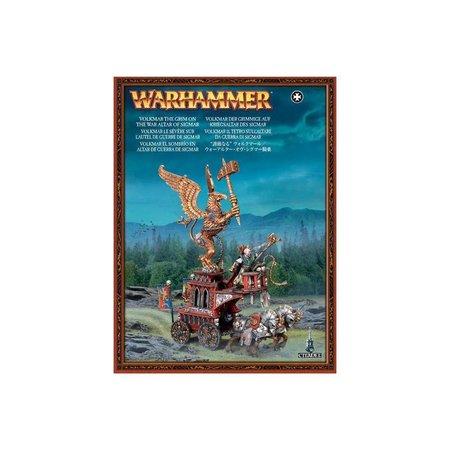 Games Workshop Age of Sigmar Humans Devoted of Sigmar: Arch Lector/Volkmar The Grim on War Altar of Sigmar