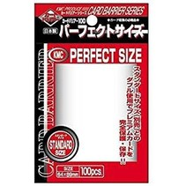 Sleeves Clear KMC Perfect Size (100)