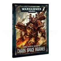 Warhammer 40,000 8th Edition Rulebook Chaos Codex: Heretic Astartes Chaos Space Marines (HC)