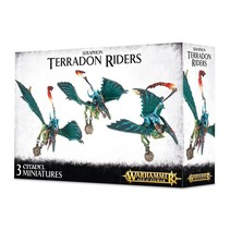 Age of Sigmar Seraphon: Ripperdactyl/Terradon Riders