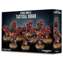 Warhammer 40,000 Imperium Adeptus Astartes Blood Angels: Tactical Squad
