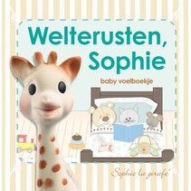 Sophie de Giraffe Weltrusten Sophie boekje