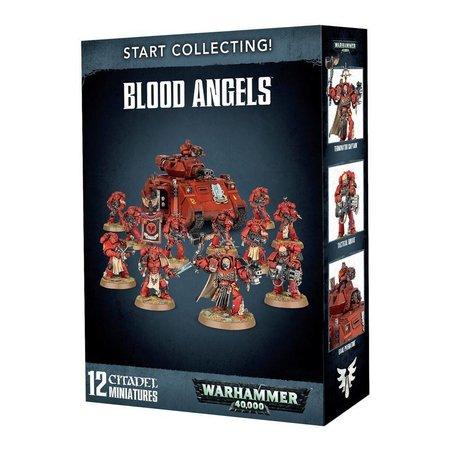Games Workshop Warhammer 40,000 Imperium Adeptus Astartes Blood Angels Start Collecting Set