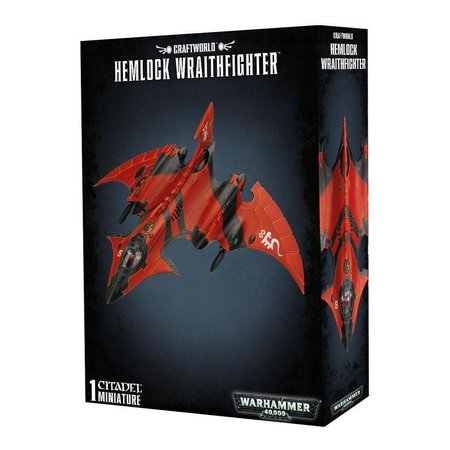Games Workshop Warhammer 40,000 Xenos Aeldari Craftworlds: Crimson Hunter/Hemlock Wraithfighter